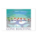 Gone Beaching - Beach Postcards (Package of 8)