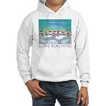 Gone Beaching - Beach Hooded Sweatshirt