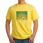 Gone Beaching - Beach Yellow T-Shirt