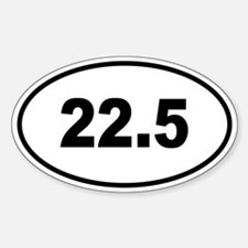 22.5 Euro Oval Decal