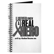 Never Knew A Hero 2 Grey (Husband) Journal