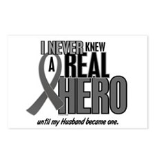 Never Knew A Hero 2 Grey (Husband) Postcards (Pack