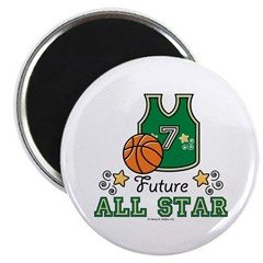 Future All Star Basketball Magnet