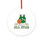 Future All Star Basketball Ornament (Round)