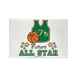 Future All Star Basketball Rectangle Magnet (10 pa