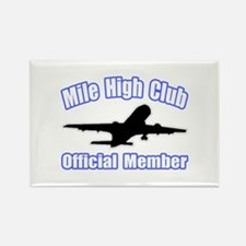 """Mile High Club"" Rectangle Magnet"