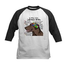 Chocolate Lab Brain Tee