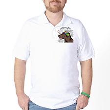 Chocolate Lab Brain T-Shirt