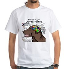 Chocolate Lab Brain Shirt