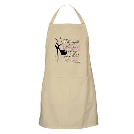 The Right Shoe Can Change Your Life BBQ Apron