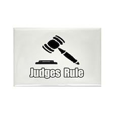 """Judges Rule"" Rectangle Magnet"