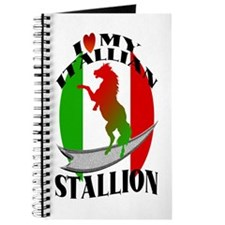 I Love My Italian Stallion Journal