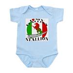 I Love My Italian Stallion Infant Creeper