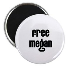 Free Megan Magnet