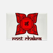 Root Chakra Rectangle Magnet