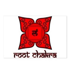Root Chakra Postcards (Package of 8)