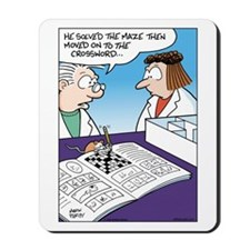 Science Rats in Maze Mousepad