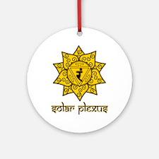 Solar Plexus Ornament (Round)