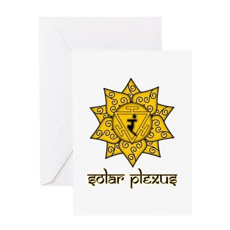 Solar Plexus Greeting Card