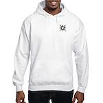 Pocket Solar Thorns Hooded Sweatshirt