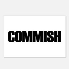 COMMISH Postcards (Package of 8)