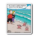 Starfish Wash Up on Beach Mousepad