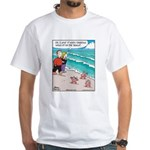 Starfish Wash Up on Beach White T-Shirt