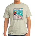 Starfish Wash Up on Beach Light T-Shirt