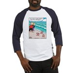 Starfish Wash Up on Beach Baseball Jersey