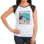 Starfish Wash Up on Beach Women's Cap Sleeve T-Shi