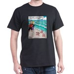 Starfish Wash Up on Beach Dark T-Shirt