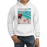 Starfish Wash Up on Beach Hooded Sweatshirt