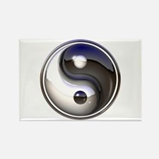 Yin and Yang Rectangle Magnet