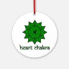 Heart Chakra Ornament (Round)