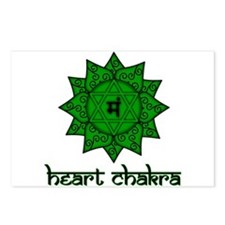 Heart Chakra Postcards (Package of 8)