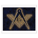 Celestial Glow Small Poster