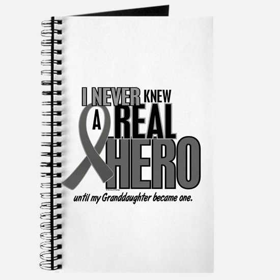 Never Knew A Hero 2 Grey (Granddaughter) Journal