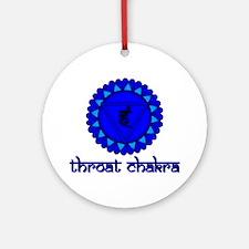 Throat Chakra Ornament (Round)