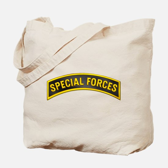 Special Forces(Black) Tote Bag