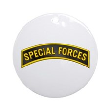 Special Forces(Black) Ornament (Round)