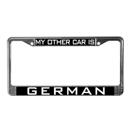 German Car License Plate Frame