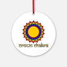 Crown Chakra Ornament (Round)