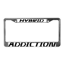 Hybrid Addiction License Plate Frame