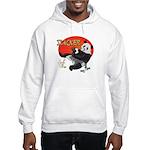 Slacker Panda Hooded Sweatshirt