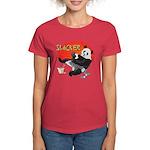 Slacker Panda Women's Dark T-Shirt