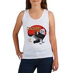 Slacker Panda Women's Tank Top