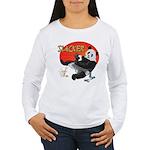 Slacker Panda Women's Long Sleeve T-Shirt