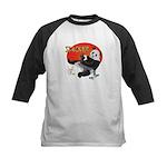 Slacker Panda Kids Baseball Jersey