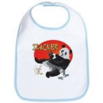 Slacker Panda Bib