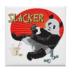 Slacker Panda Tile Coaster